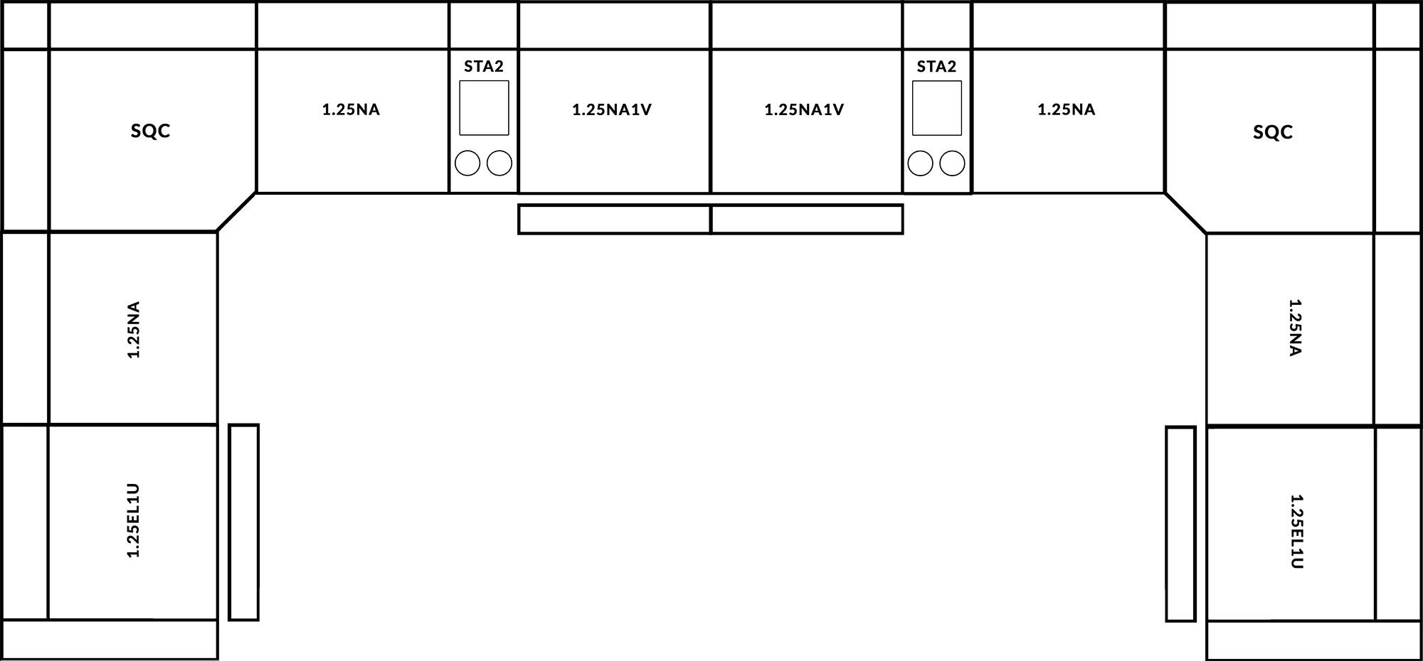 FrontRow™ Luno Corner Option 3