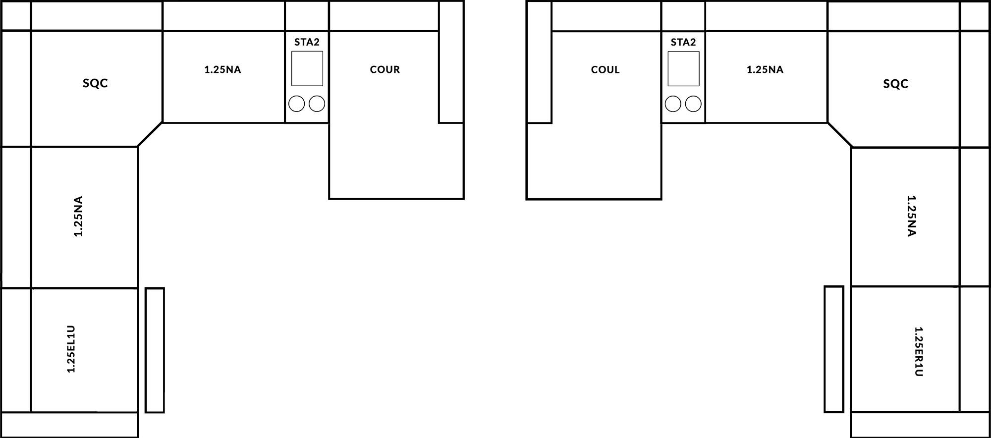 FrontRow™ Luno Corner Option 4