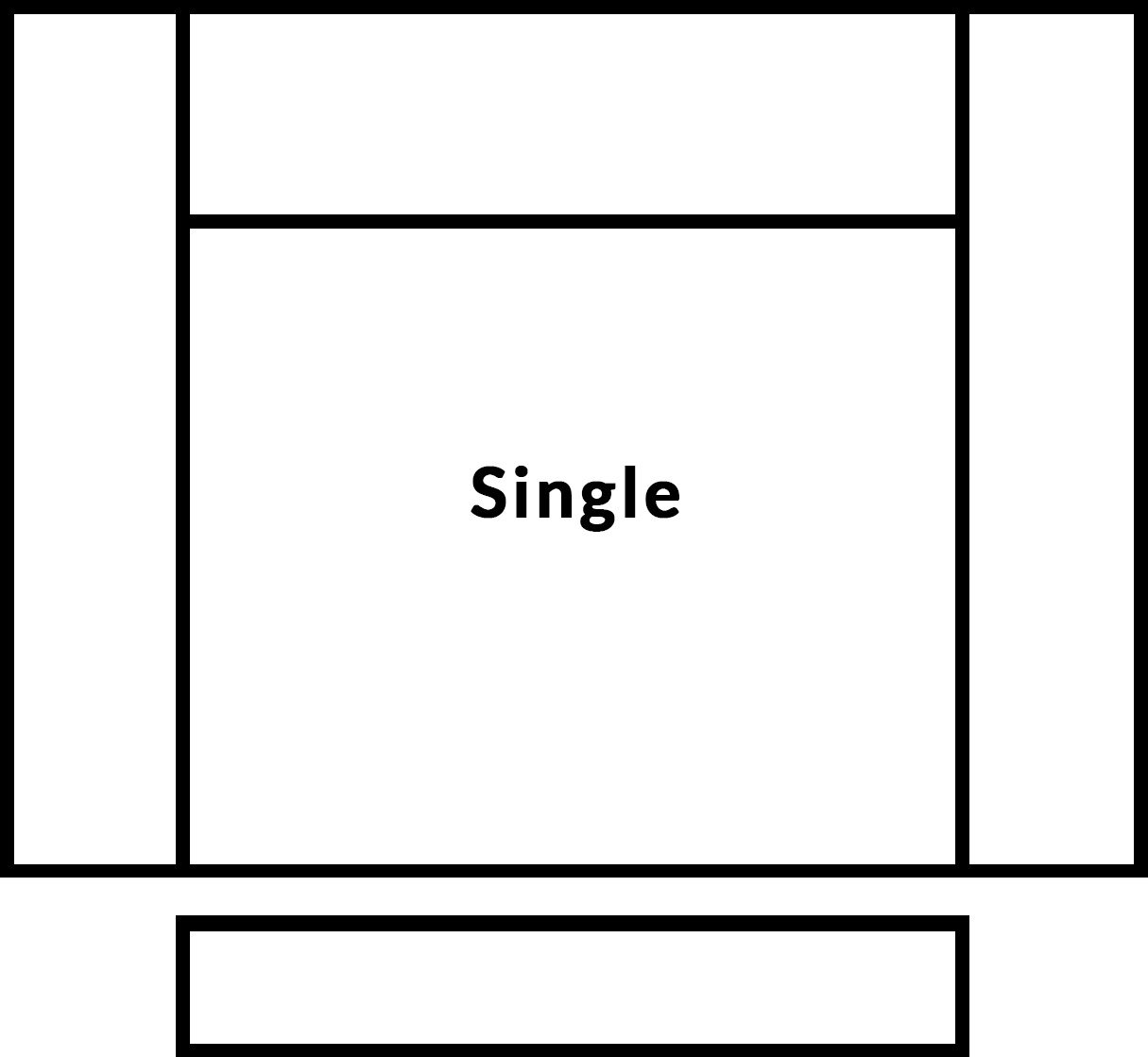 FrontRow™ Luno single seat
