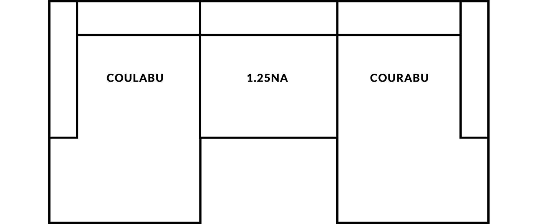 FrontRow™ Modern 3 seat straight Option 10