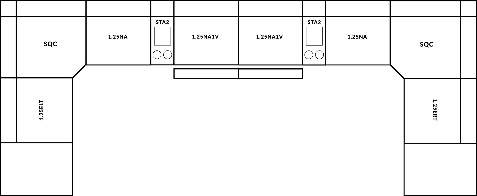 FrontRow™ Modern Corner Option 3