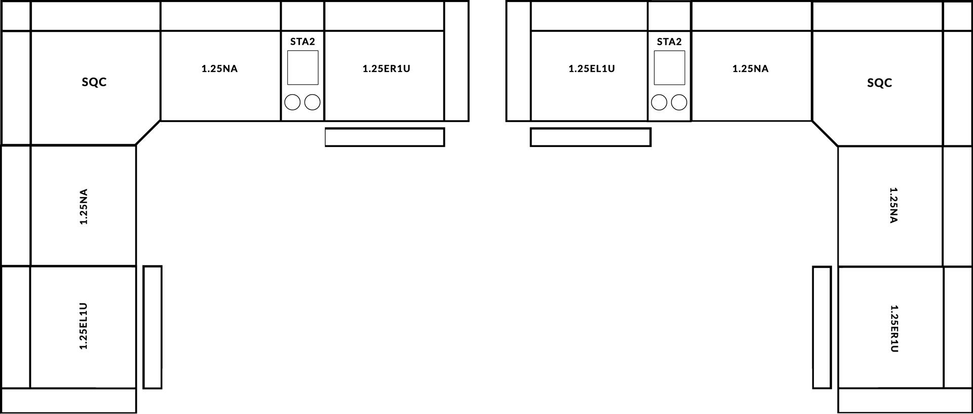 FrontRow™ Luno Corner Option 2