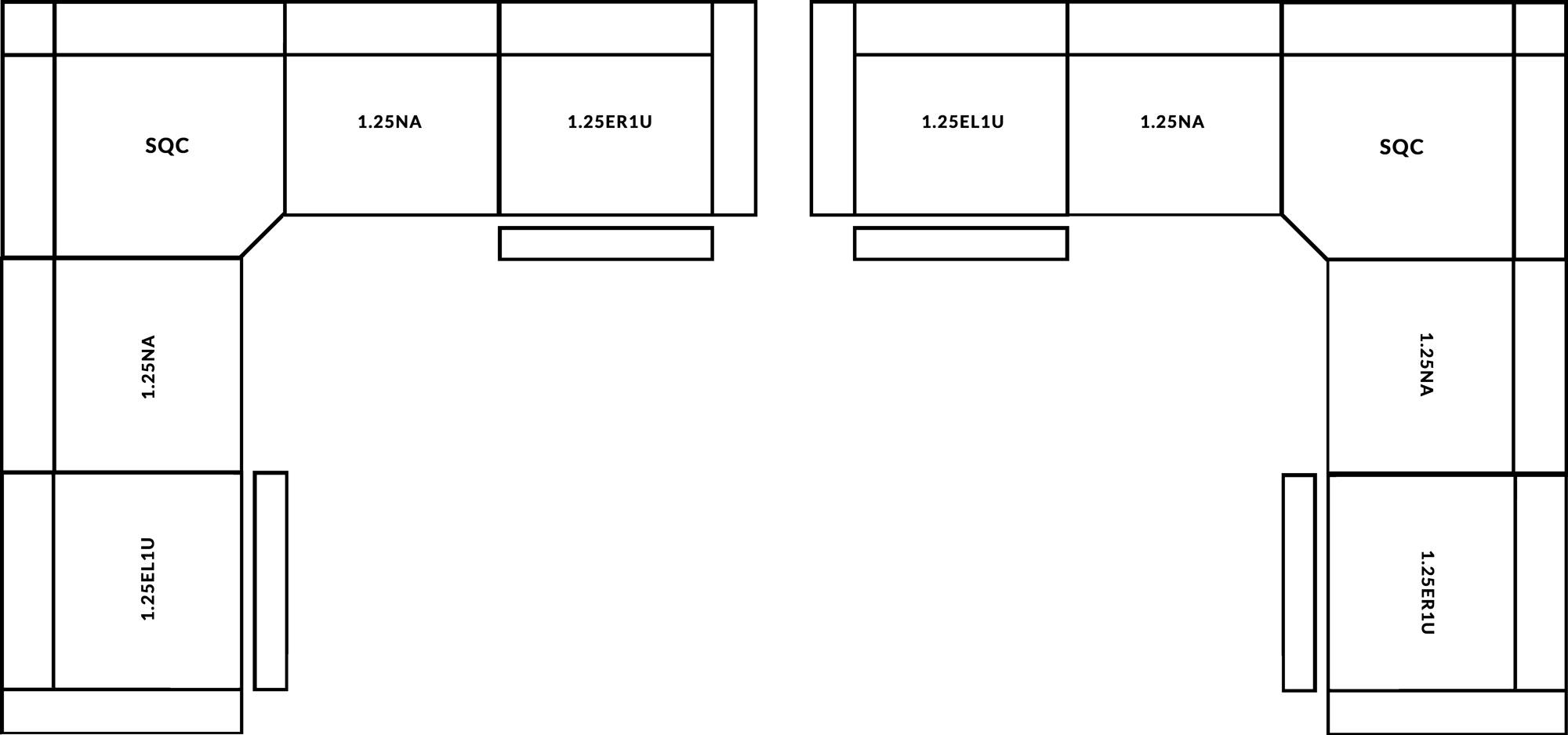 FrontRow™ Tegra Corner Option 1