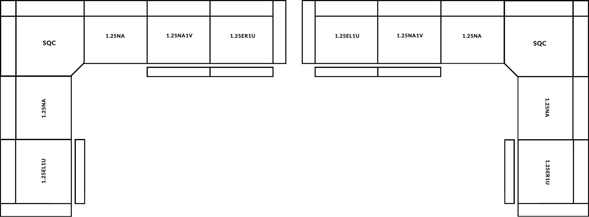 FrontRow™ Tegra Corner Option 2