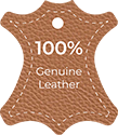 Genuine leather symbol