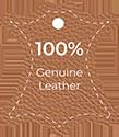 Genuine leather symbol