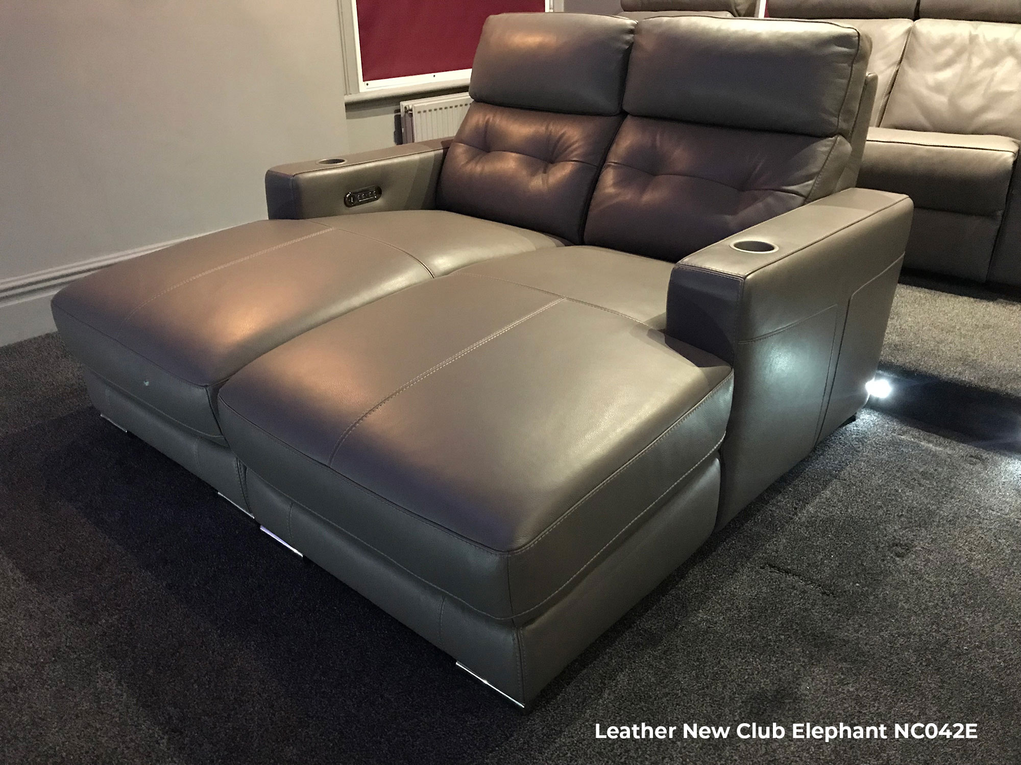 FrontRow™ Serenity Home Cinema Seating 2 seat couch