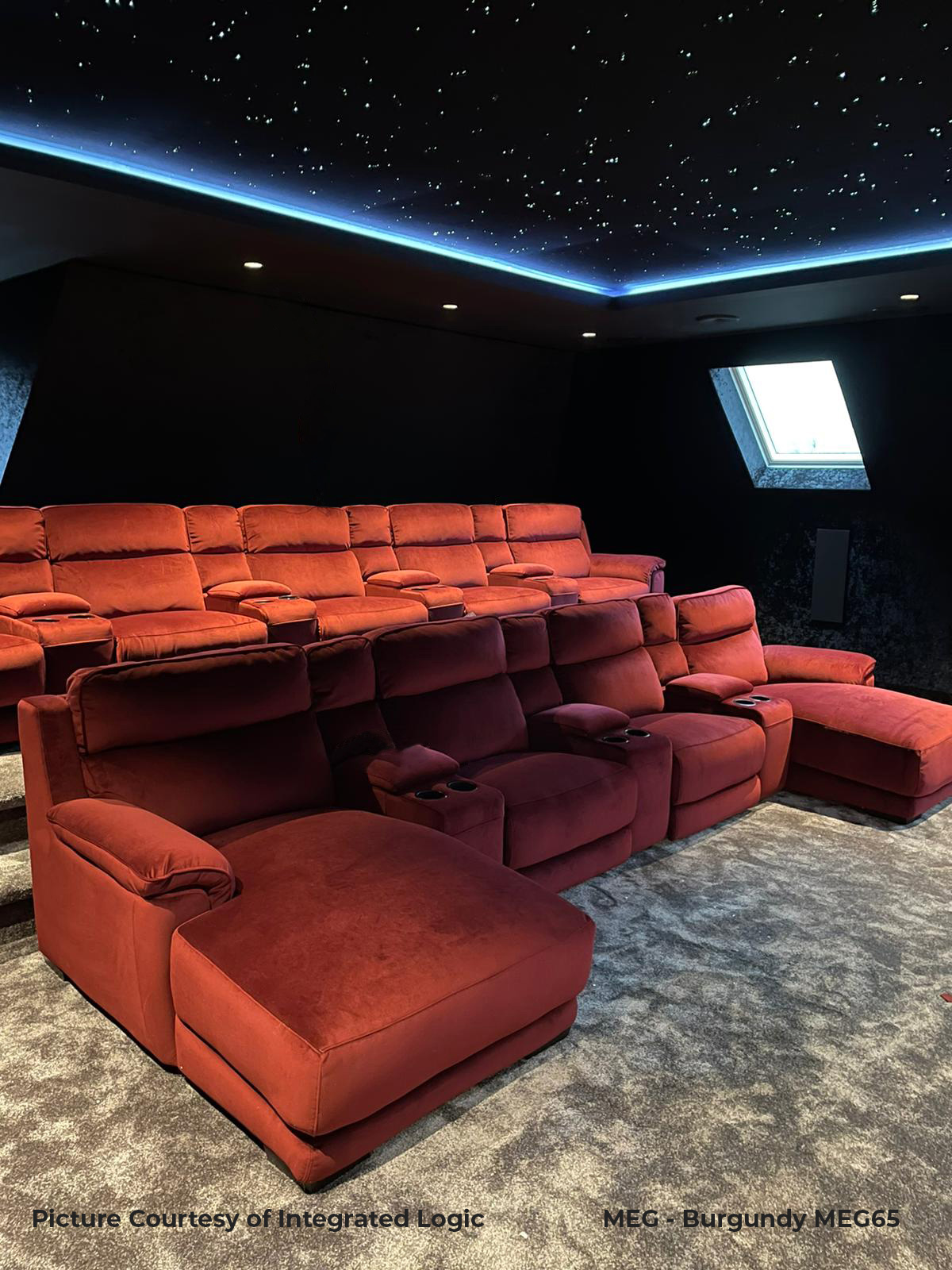 FrontRow™ Serenity Home Cinema Seating - Luno