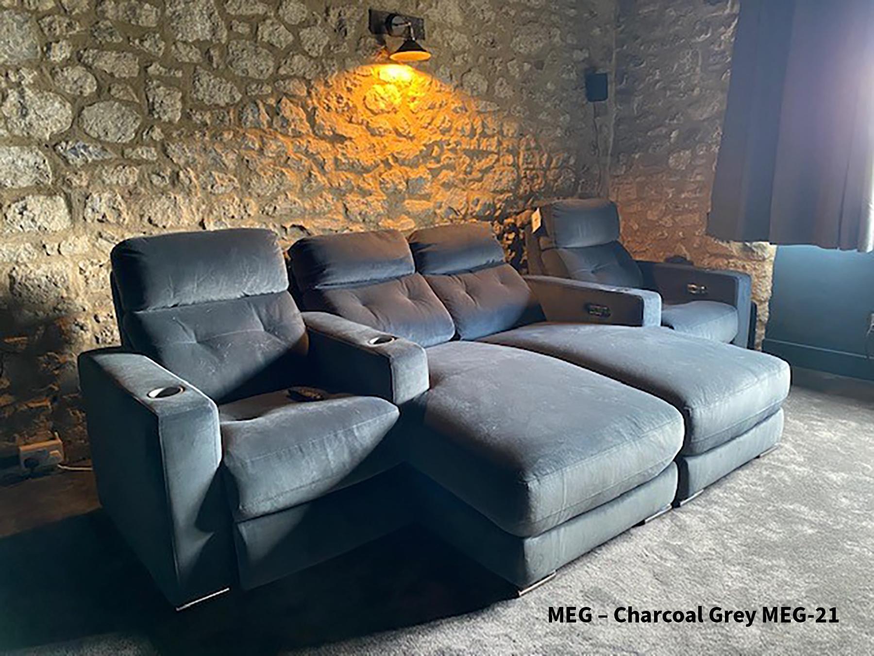 FrontRow™ Serenity MEG – Charcoal Grey MEG-21