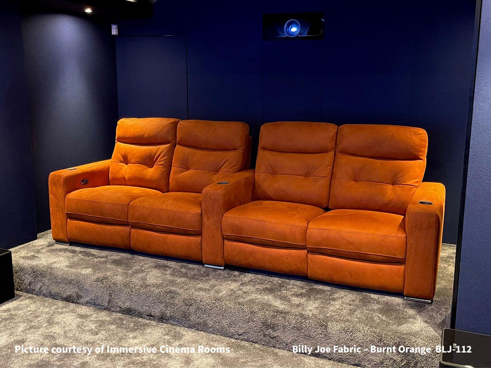 Billy Joe Fabric – Burnt Orange BLJ-112