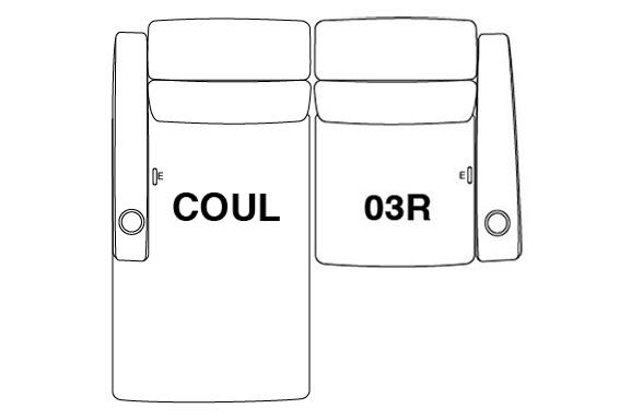 2 Seat Straight (Option 3)