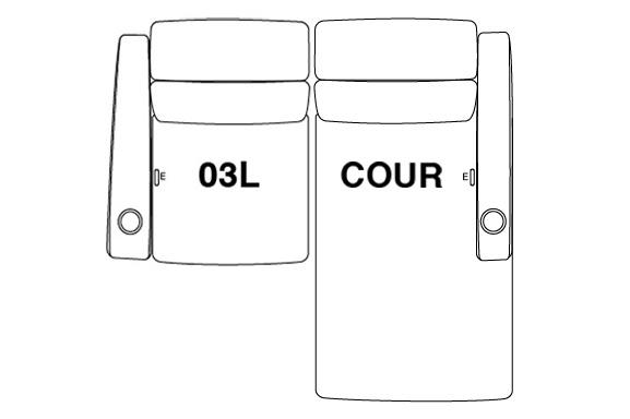 2 Seat Straight (Option 4)
